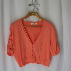 Cato shrug crop bolero cardigan sweater sz 22/24